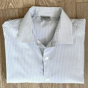 Kenneth Cole Slim Fit Button Down Shirt